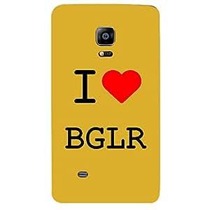 Skin4gadgets I love Bangalore Colour - White Phone Skin for SAMSUNG GALAXY NOTE EDGE (N915)