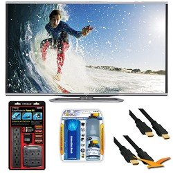 Where Can I Buy Sharp LC-60LE857U Aquos 60-Inch 3D Wifi 240Hz 1080p LED TV Plus Surge Protector Bundle For Sale Online