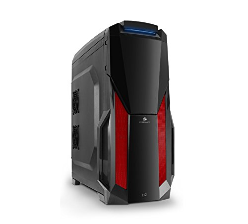 Zebronics H2, ZEB-528B Gaming Cabinet with 450-watt SMPS