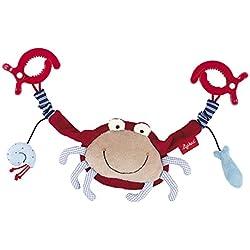 sigikid, Mädchen und Jungen, Wagenkette Krabbe, Toy Ahoi, Rot/Blau, 40983