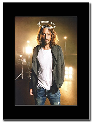 Soundgarden Saint-Chris Cornell. Magazine Promo su un supporto, colore: nero