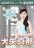 【大矢真那】ラブラドール・レトリバー AKB48 37thシングル選抜総選挙 劇場盤限定ポスター風生写真 SKE48チームS