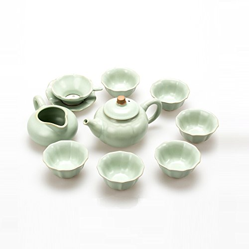 Chinese Ru Kiln Kongfu Tea Set