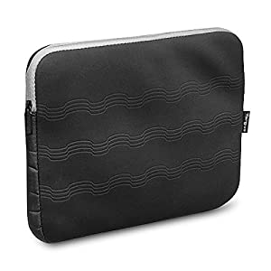 """Targus - Debossed Laptop Sleeve - Gray/Black-Fits most laptops with up to a 15.6"""" display"""