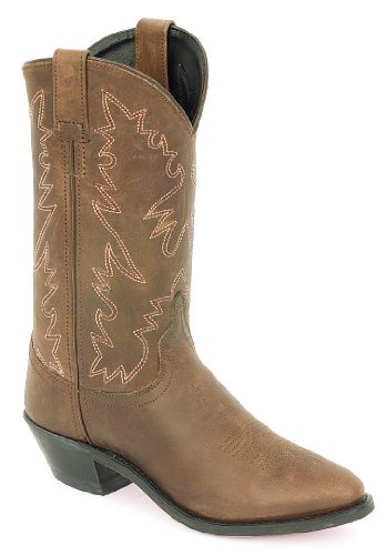 Old West Women's Distressed Leather Cowgirl Boot