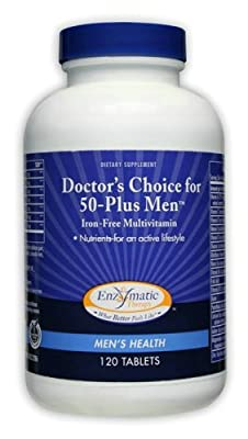 Enzymatic Therapy - Doctors Choice? 50+ Men 120 Tabs