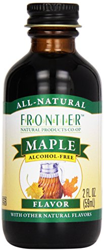Frontier Maple Flavor Alcohol-Free, 2-Ounce Bottle front-818108
