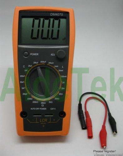 Best Deal Electrical Multimeters: DM4070 LCR meter capacitance