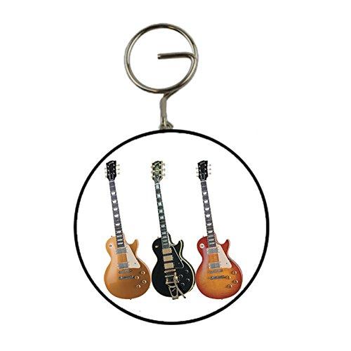 3 chitarre elettriche e portachiavi Portachiavi apribottiglie, 58 mm