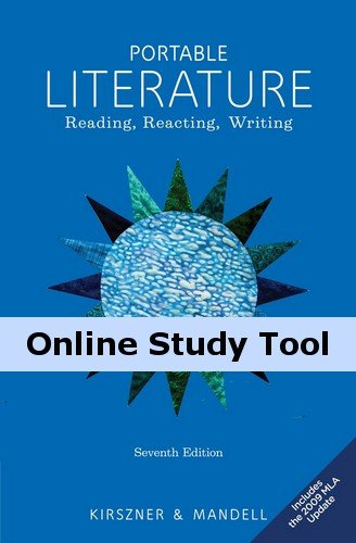 The Introduction to Literature Resource Center, 1 term (6 months) Instant Access for Kirszner/Mandell's Portable Literature: Reading, Reacting, Writing, 2009 MLA Update Edition (Kirszner Portable Literature compare prices)