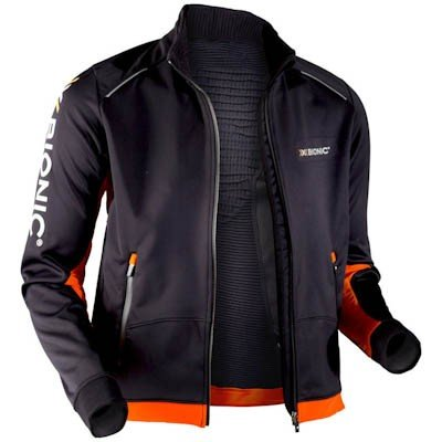 X-Bionic O20447 Running Sphere Wind Winter Jacke black/orange, Größe:L