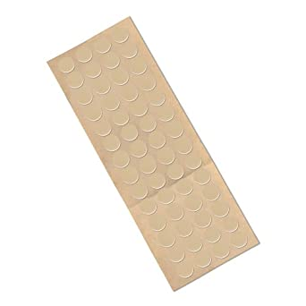 """TapeCase 3M 4492W CIRCLE-0.5""""-250 Polyethylene Foam Tape, 31 mil (0.8 mm) Thick, 0.5 Inch Circles (Pack of 250)"""