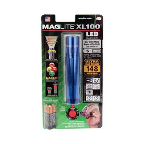 Xl100, Blue Body, 3 Cell Aaa Led Light, Blister Pack - Maglite Lighting