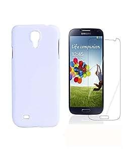 FUN MOBILE Back Cover & Free 3 Matte Screen Guard For Samsung Galaxy S5 I9500 (White)