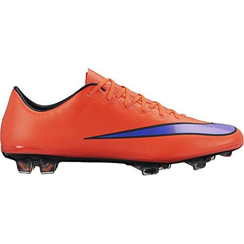 Nike Mercurial Vapor X FG Football boots different colors, Color:red;EU Shoe Size:EUR 45.5 (Mercurial Vapor Red compare prices)