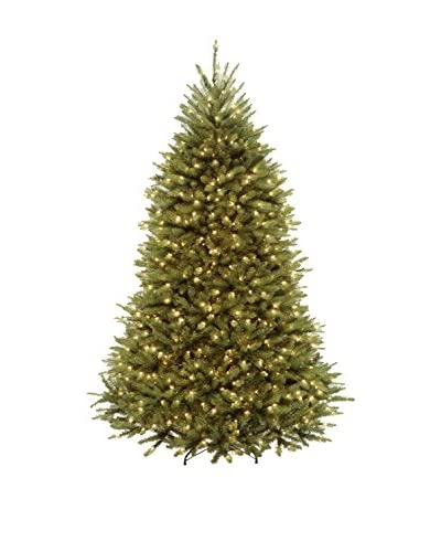 National Tree Company 6.5' Dunhill 650-Light Fir Hinged Tree