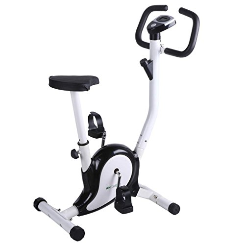 Ancheer Upright Bike Indoor Cycle Trainer Exercise bikes w/ LCD Display