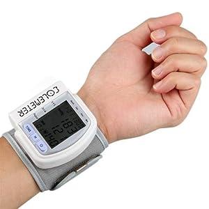 COLEMETER® Tensiomètre Poignet Appareil A Tension Pression Artérielle Pouls
