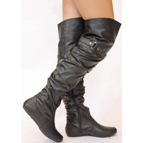 Womens Over The Knee Boots Size 3 4 5 6 7 8