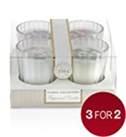 Floral Collection Mix Candles Gift Set
