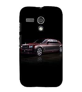 printtech Superfast Car Back Case Cover for Motorola Moto G X1032 / Motorola Moto G (1st Gen)