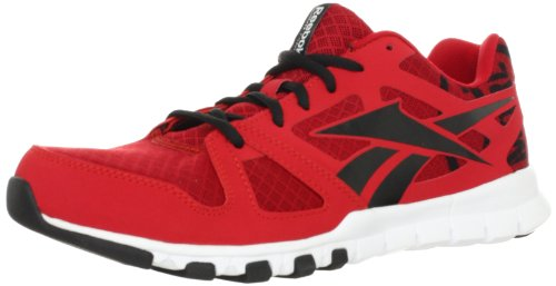 Reebok Men's Sublite Train 1.0 Cross-training Shoe,Excellent Red/Black/White,9 M US