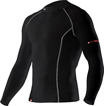 2XU Mens Long Sleeve Performance Compression Top by 2XU
