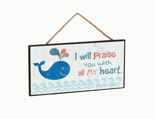 Wooden Whale Wall Art front-1056467