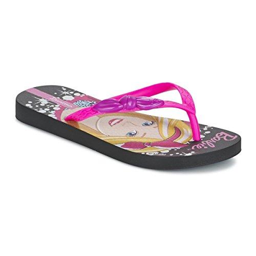 Ipanema Barbie Style Kids, Infradito da Bambina 81884 (33/34, Nero (Black/Pink( 23096 )))