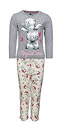 night suit pepito AS-7317G grey milanch 3-4 Y