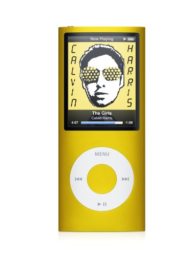 Apple iPod nano 8 GB Yellow (4th Generation) OLD MODEL
