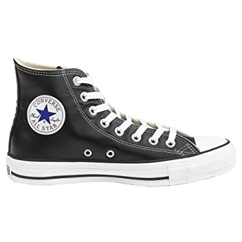 Chuck Taylor All-Star Hi Leather: Black