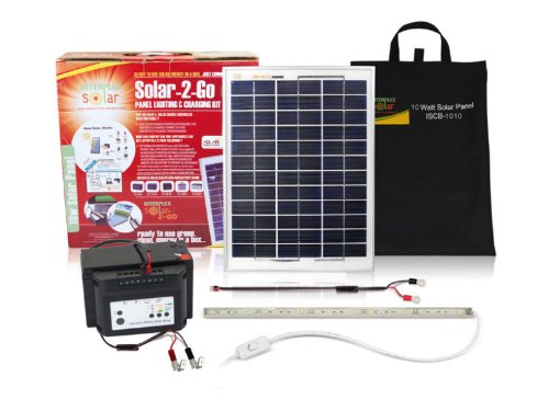 Solar 2 Go ISB-RL01 10 Watt Portable Solar Power