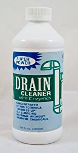 Super Power Drain Cleaner with Enzymes
