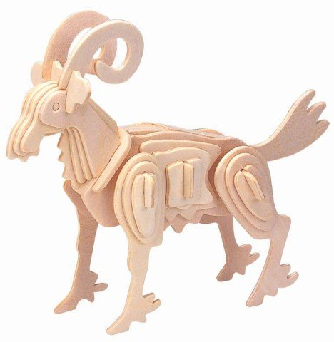 Picture of i8899 Aries 3d Wooden Puzzle (B0052GMMGW) (3D Puzzles)