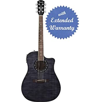 Fender T-Bucket 300CE Cutaway Acoustic-Electric Guitar, Flamed Maple Top, Mahogany Back and Sides, Fishman Preamp... Comparison