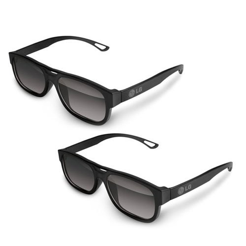 LG AG-F210 Cinema 3D Glasses (2-Pairs) for 2011