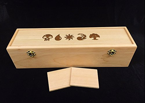 magic-the-gathering-engraved-deck-box-with-hinges-2-latches-16-3-4x4-1-2-x4-1-4-mana-symbols