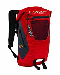 Outdoor Products Amphibian Backpack, 20-Liter, Red Tomato Puree