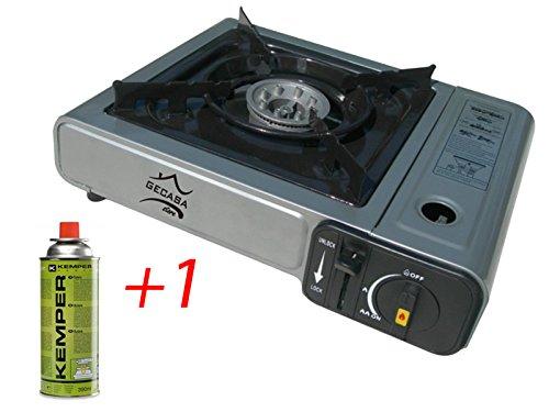Fornello gas doppio attacco gpl butano cucina campeggio - Prezzo gas gpl casa ...