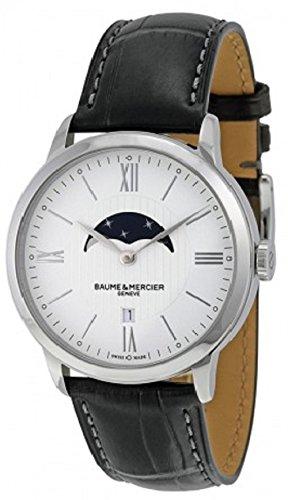 baume-et-mercier-classima-white-dial-moonphase-black-leather-mens-watch-10219