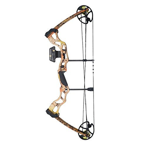compound-bow-kit-for-skilled-hellbow-pulley-color-camo-75-lbs-270-fps-display-2-hands