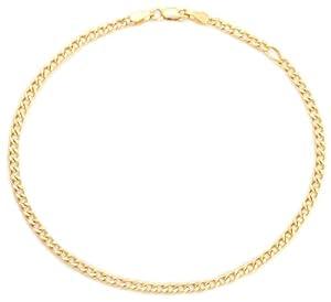 Bijoux de corps Bracelet de cheville - Femme - Chaîne - Or jaune (9 carats) 2.1 Gr