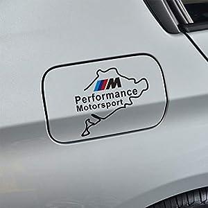Black Duoles Car Decoration M Performance Decals Gas Fuel Tank Cap Cover Window Bumper Glass Door Stickers for BMW M3 M5 X1 X3 X5 X6 E36 E39 E46 E30 E60 E92 Series