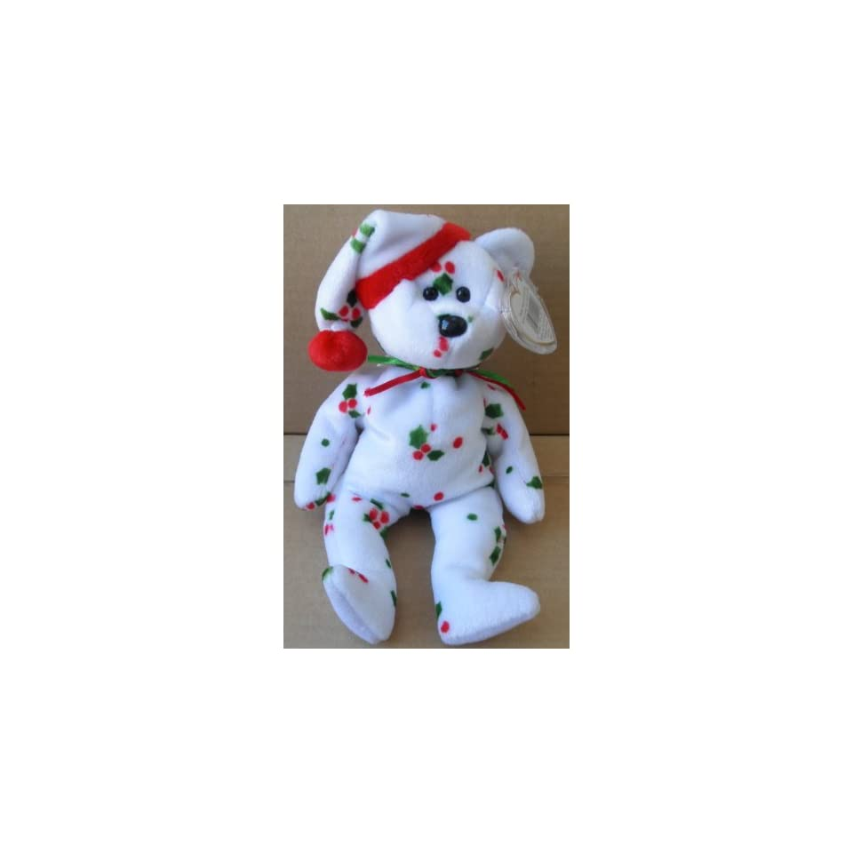 TY Beanie Babies 1998 Holiday Teddy Bear Stuffed Animal Plush
