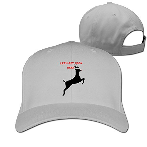 JXMD Unisex-Adult Let's Get Jiggy Jiggy Hip Hop Caps Ash (Starbucks Coffee Maker Games Free compare prices)