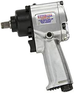 Sealey SA203 1/2-inch Square Drive Air Impact Wrench with Compact Twin Hammer