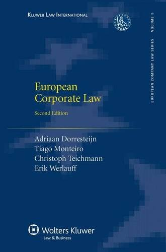European Corporate Law Second Edition (European Company Law Series)