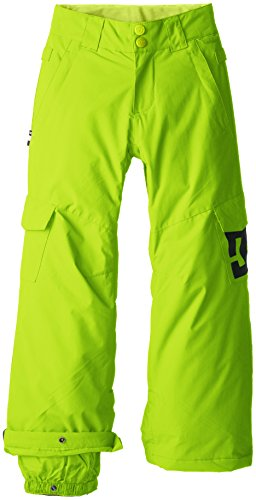 DC Shoes - Pantaloni modello Banshee Electric da sci, modello maschile, verde (Verde lime), 12 anni (FR: 12)