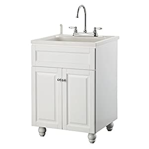 Foremost BAWA2421 Bramlea 24-Inch Laundry Vanity with ABS Sink and ...